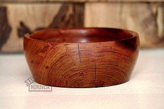 Nádoby - Miska z marhuľového dreva - 8687784_