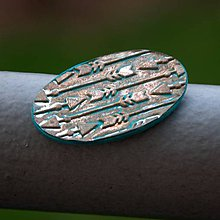 Magnetky - Magnetka Vintage šípky - 8687754_