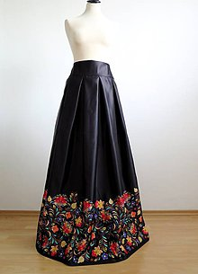 5da98952ab61 fioreLino handmade - EVART Sukne Maxi sukne   SAShE.sk