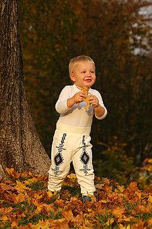 """Detské oblečenie - Detské folklórne nohavice """"Raslavický verbung"""" veľkosť 92-104 - 8687926_"""