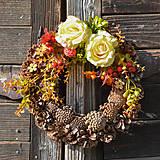 Dekorácie - Jesenný venček - 8690949_