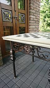 Nábytok - Šachový stôl - 8690914_