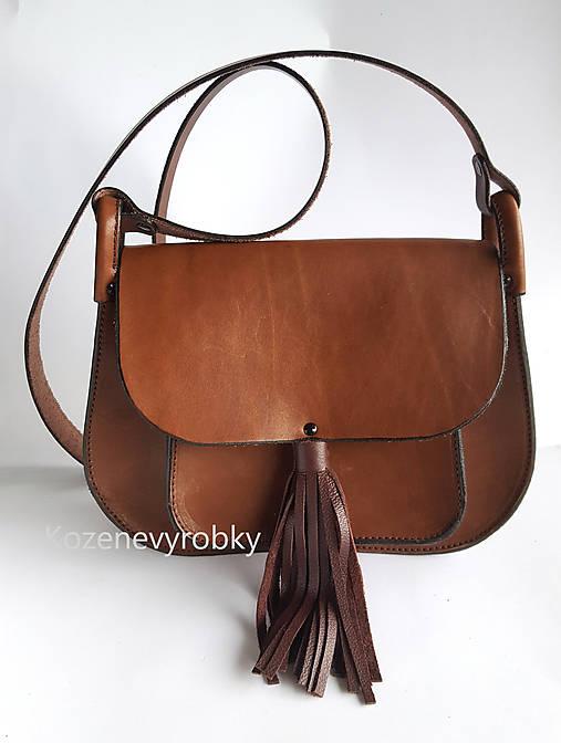 bc1697b05428 Kožená kabelka so strapcami   Kozenevyrobky - SAShE.sk - Handmade ...