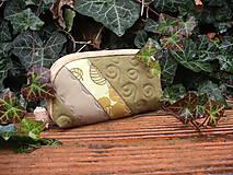 Taštičky - taštička zelená - 8687964_