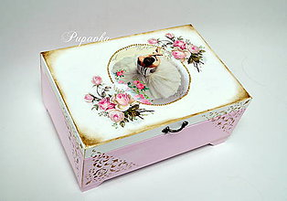 Krabičky - Balerína šperkovnica - 8687758_