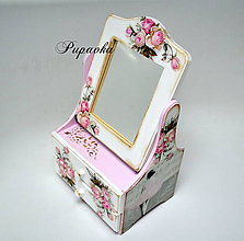 Zrkadlá - Zrkadielko balerína - 8688750_