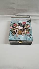 Krabičky - krabička - psíkovia - 8689533_
