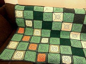 Úžitkový textil - DEKA ZelenoFarebná - 8692311_