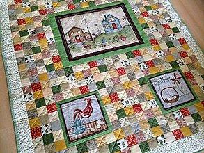 Úžitkový textil - Vidiecka deka - 8690169_