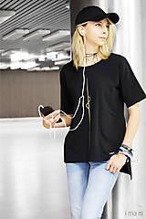 Tričká - Dámske tričko čierne IO1 - 8690847_