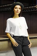 Tričká - Dámske tričko biele IO2 - 8691656_