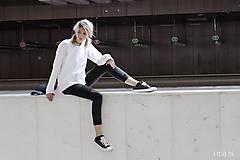 Mikiny - Dámska mikina biela IO3 - 8691734_
