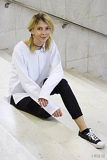 Mikiny - Dámska mikina biela IO3 - 8691733_