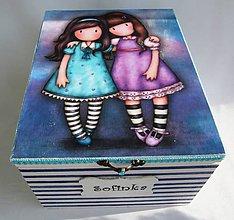 Krabičky - Krabica na CD-Sofinka - 8696294_