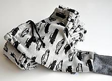 Detské oblečenie - Tepláky autá - 8696620_