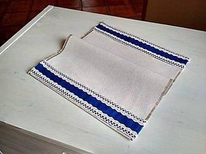 Úžitkový textil - Romantické prestieranie FOLKlórne - 8694623_