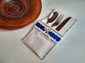 Úžitkový textil - Romantické prestieranie FOLKlórne na príbor - 8694646_