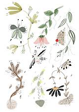 - V lese 2 ilustrácia / print vlastného obrazu - 8693629_