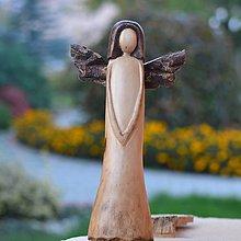 Dekorácie - Anjel  - Pokoj v duši - 8695898_