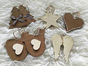 Dekorácie - Vianočné ozdoby natur - 8694979_