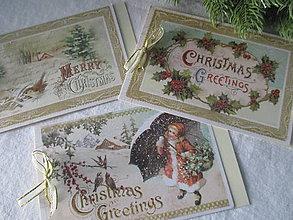 Papiernictvo - Vianočné karty - 8695867_