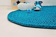 Úžitkový textil - Koberček okrúhly - 8694546_