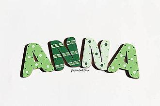 Tabuľky - ANNA možno aj zo zleného domu - 8695832_