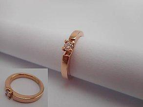 Prstene - Ružový snubáčik - 8692543_