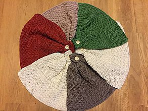 Úžitkový textil - Uteráčik - utierka (Hnedá) - 8695586_