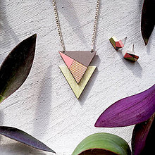 Náhrdelníky - Drevený náhrdelník Punčák - 8693776_
