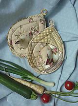 Úžitkový textil - Sliepka vs. kohút  - 8696437_