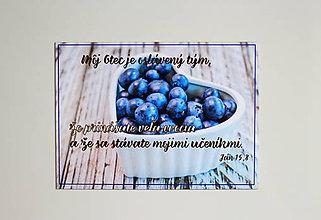 Magnetky - Magnetka Čučoriedky - 8694153_