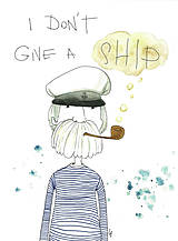 Iné - I don't give a ship - 8695439_