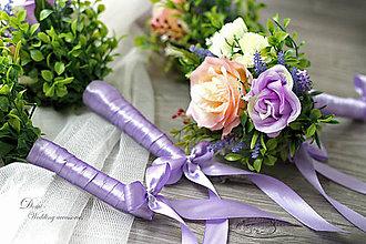 Dekorácie - Kytičky  ..na svadobný stôl, aj pre družičky ♥ - 8696103_