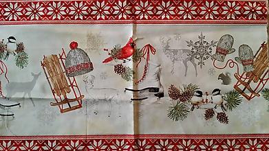 Textil - Vianočný panel - 8695085_