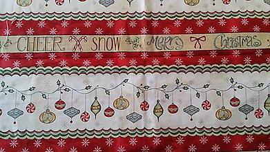 Textil - Vianočný panel 1. - 8695110_
