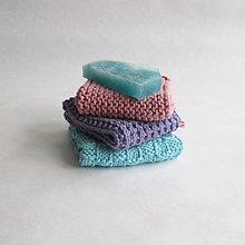 Úžitkový textil - Pletené žinky - 100% bavlna - 8693053_