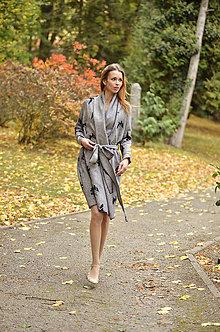 Kabáty - Kabátik s motýliky - poslední XS - 8694272_