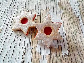 Náušnice - linecké hviezdy (veľké) - 8695939_