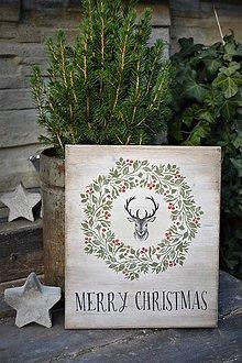 Tabuľky - Vianočná tabuľka - 8695641_