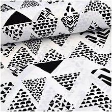 Úžitkový textil - Čiernobiele stany - posledná šanca - 8699041_
