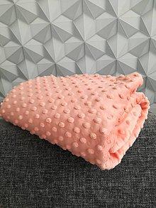 Textil - Minky - CUDDLE DIMPLE® Papaya - 8699228_