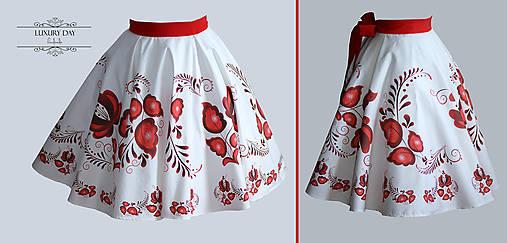 suknička FOLK (Červená)