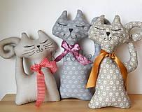 Dekorácie - Dekoračné mačky - Mica s kamarátmi ZĽAVA z 11 na 8€ - 8697193_