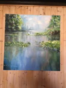 Obrazy - záružlie pri vode - 8697820_