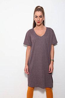 Šaty - long boyfriend shirt - 8699527_