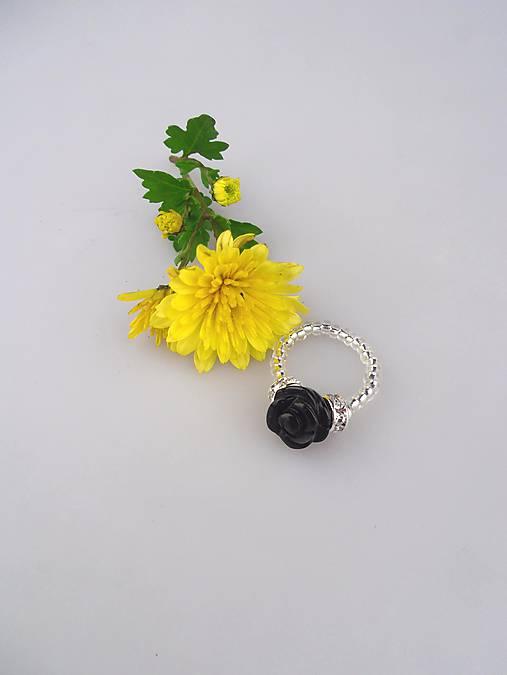 95b6ca34b ónyx prsteň nočný kvet / Sima-polodrahokamy - SAShE.sk - Handmade ...