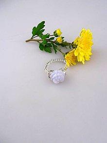 Prstene - chalcedón prsteň, striebro Ag925/1000 - 8699365_