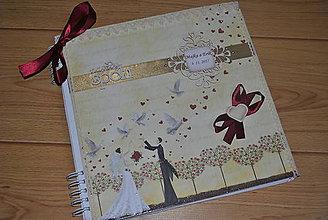 Papiernictvo - Svadobný MAXI album/PREDANÝ - 8698780_