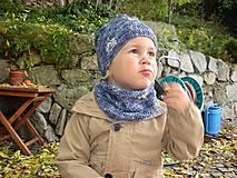 Detské doplnky - Modrý nákrčník - 8700848_